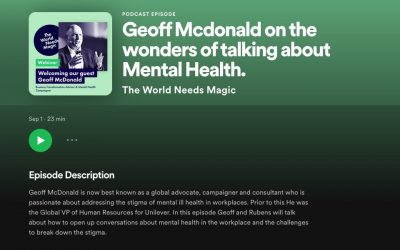 The Wonders of Talking About Mental Health