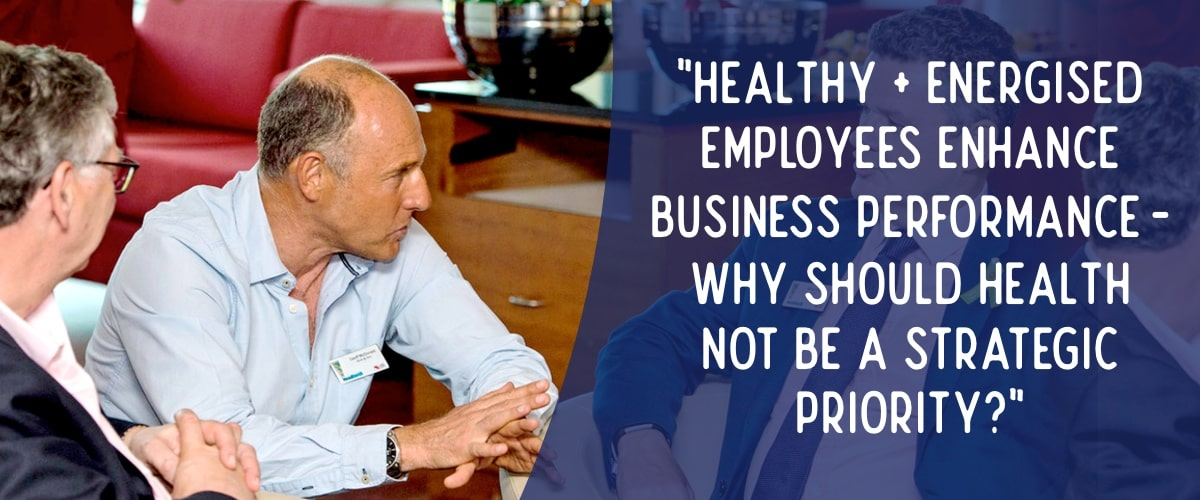 Geoff McDonald consulting with organisations about mental health in the workplace
