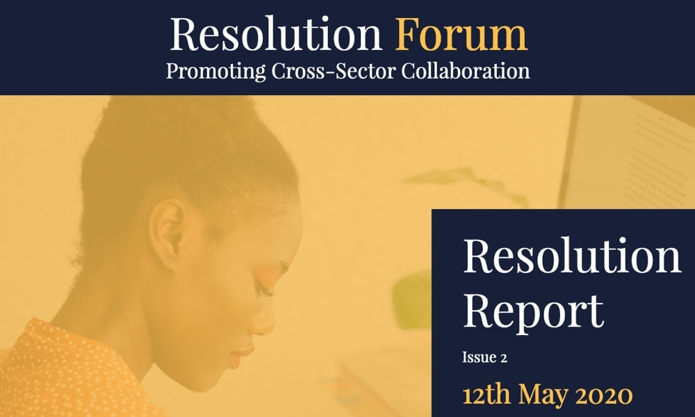 Resolution Report banner image