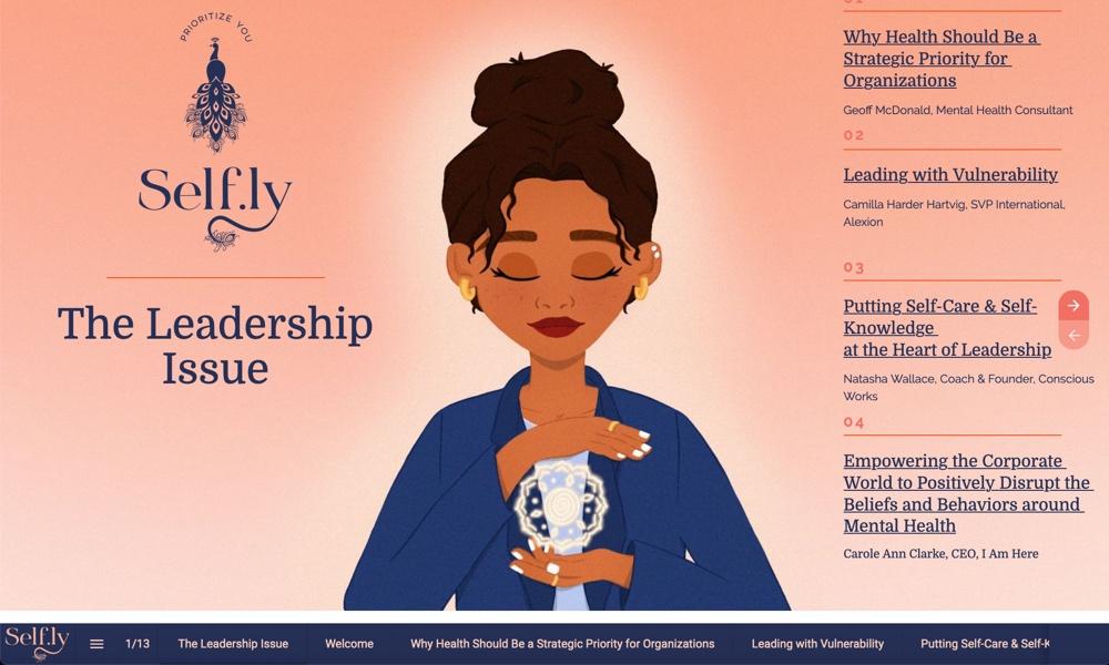 slefly online magazine screenshot